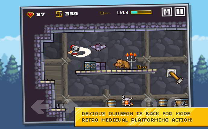 devious dungeon 2 android
