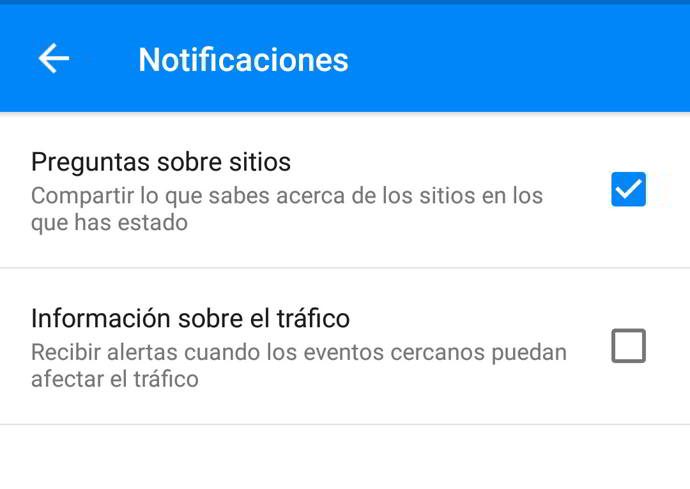 google maps trafico android