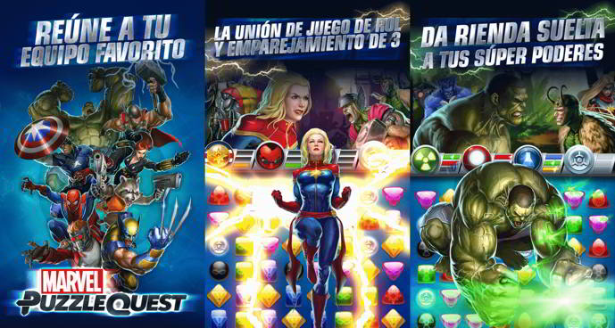 marvel puzzle quest android
