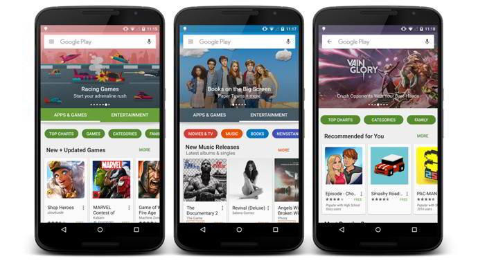 play store v6.0 android
