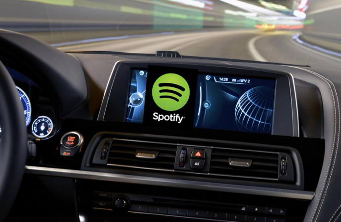 spotify music bmw android