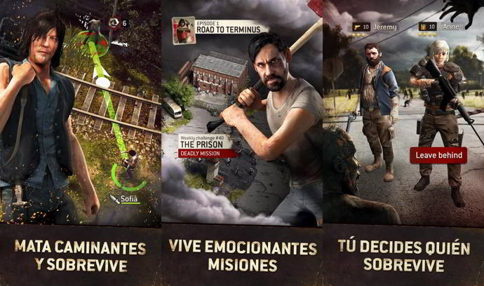 the walking dead no mans land android