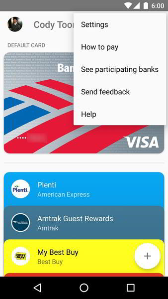 android pay v1.1 android