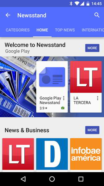 google play kiosco android