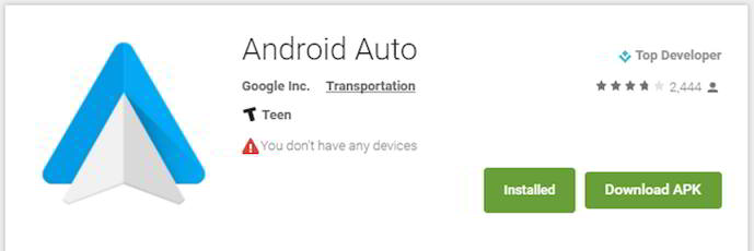 play store bug reconocimiento android