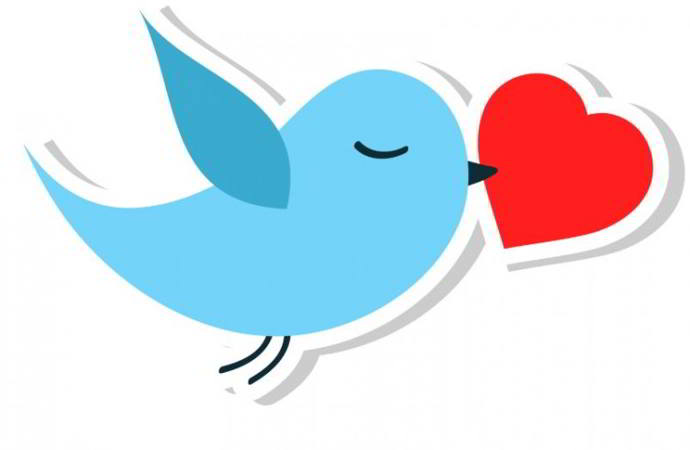 twitter corazón android