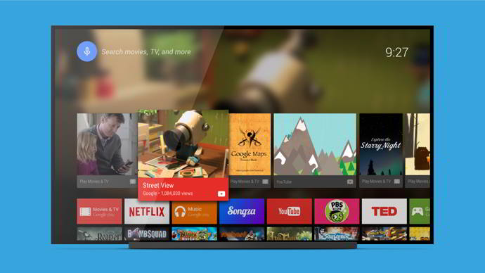android tv launcher android
