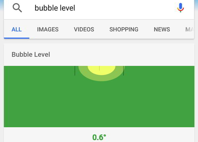 google search nivelador burbuja android