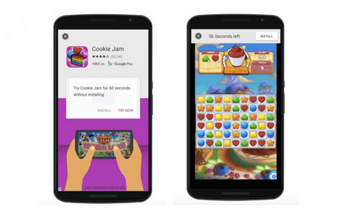 play store pruebas streaming android