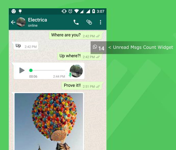 chat helper for whatsapp android