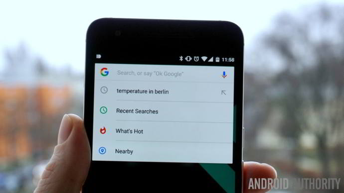 google now recientes android