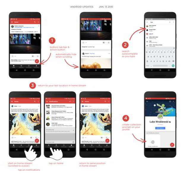 google plus v7.0 android