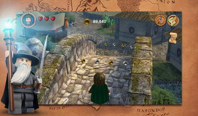 lego lord of the rings android
