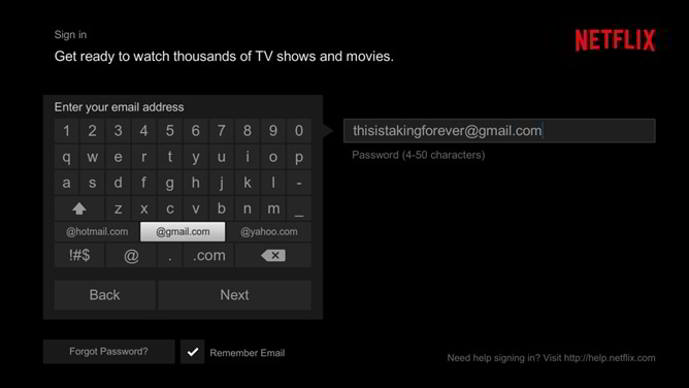 netflix for android tv smart lock android