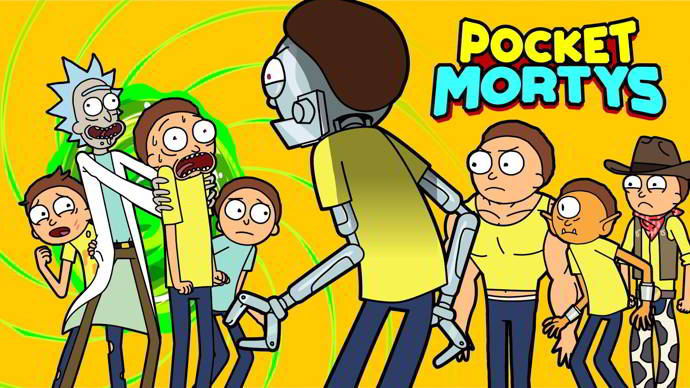 pocket mortys android