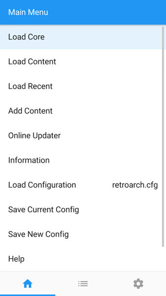 retroarch v1.3 android
