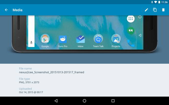 wordpress v4.9 android