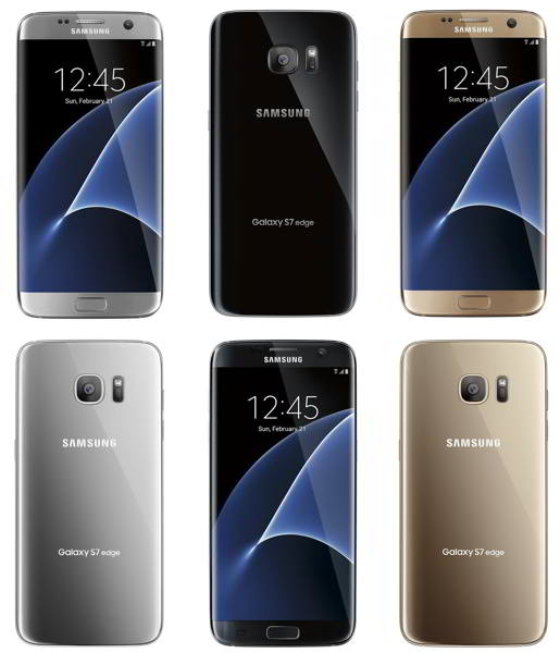 galaxy s7 edge colores
