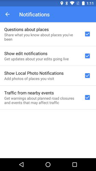 google maps v9.21 android