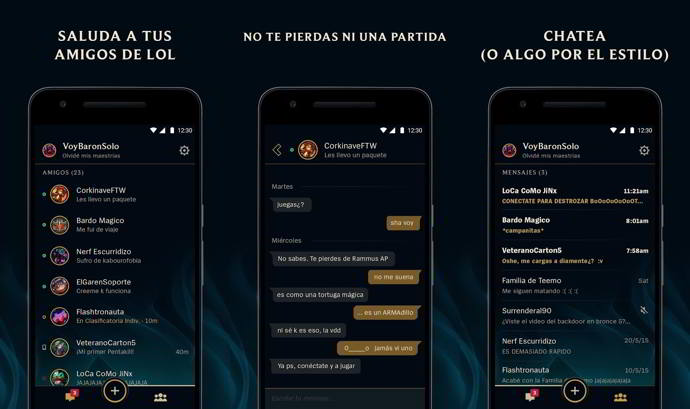 league friends android