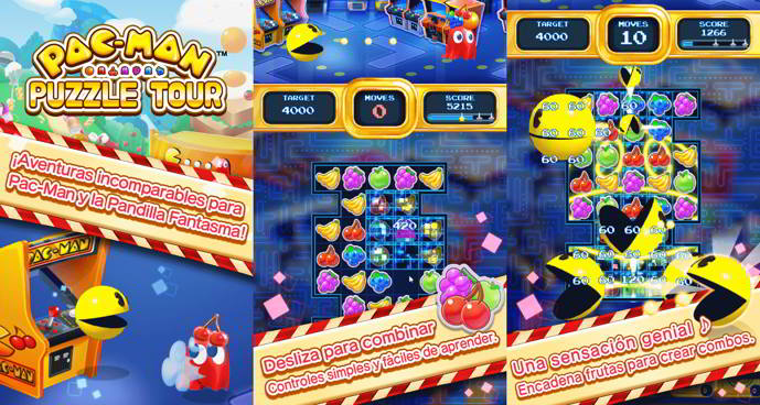 pac-man puzzle tour android