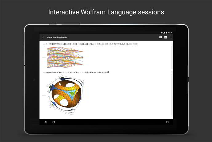 wolfram cloud android