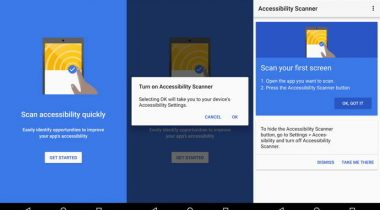 accessibility scanner android