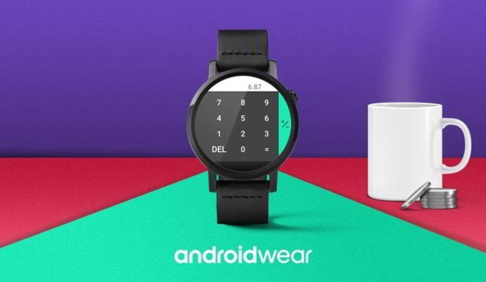 calculadora de google android wear