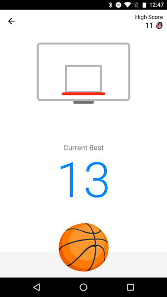 facebook messenger basketball android