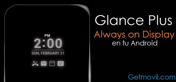 glance plus always on display android