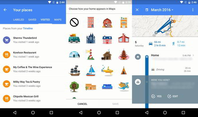 google maps v9.22 android