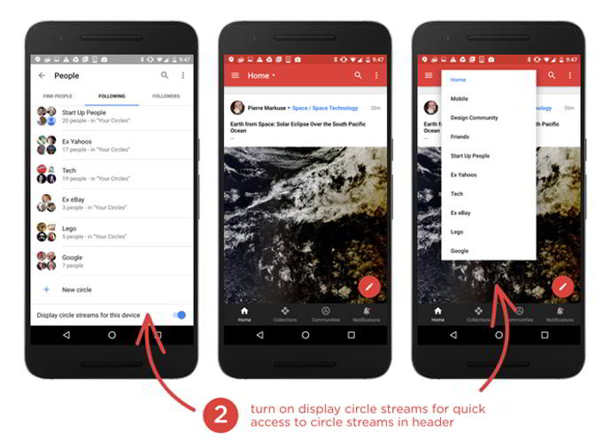 google plus v7.4 android