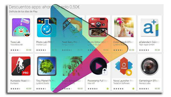 play store rebajas android