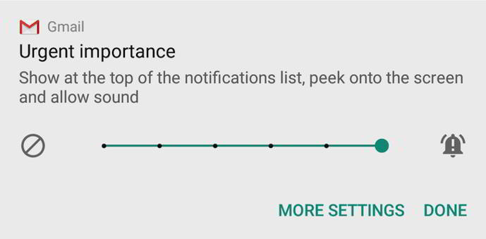 android n preview 2 notificaciones