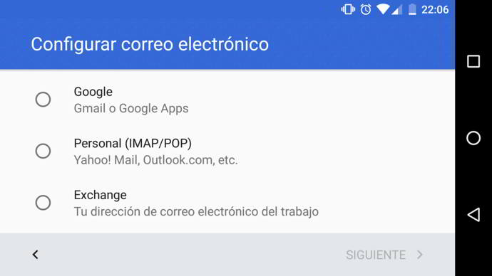 gmail microsoft exchange android
