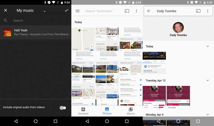 google fotos v1.19 android