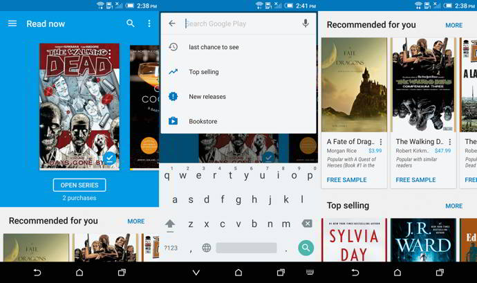 google play books v3.8 android