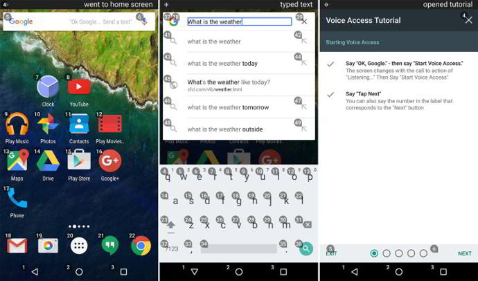 google voice access beta android