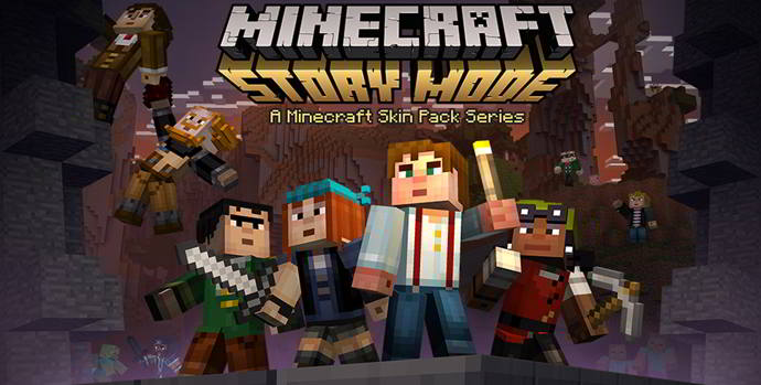 minecraft pocket edition skins story mode android