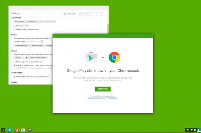 play store chromeos