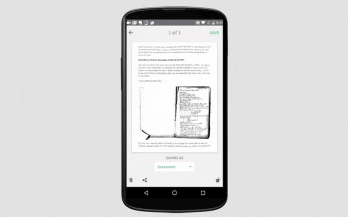 evernote escaneo android