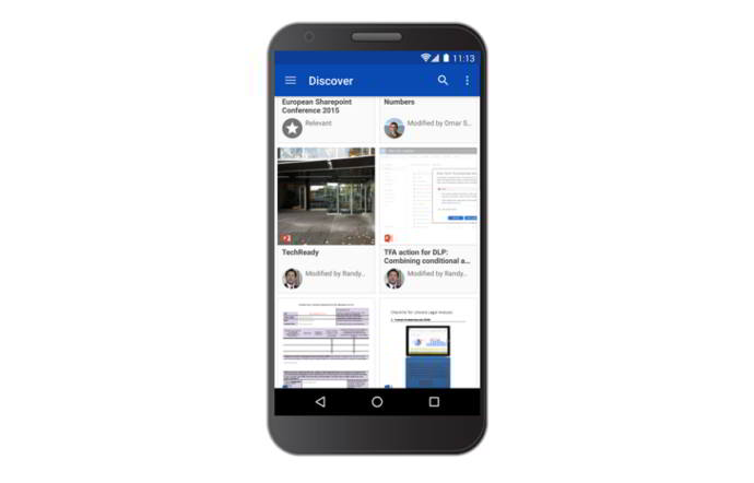 onedrive descubrir android