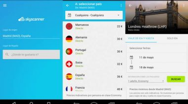 skyscanner android