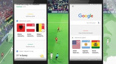 google now eurocopa android
