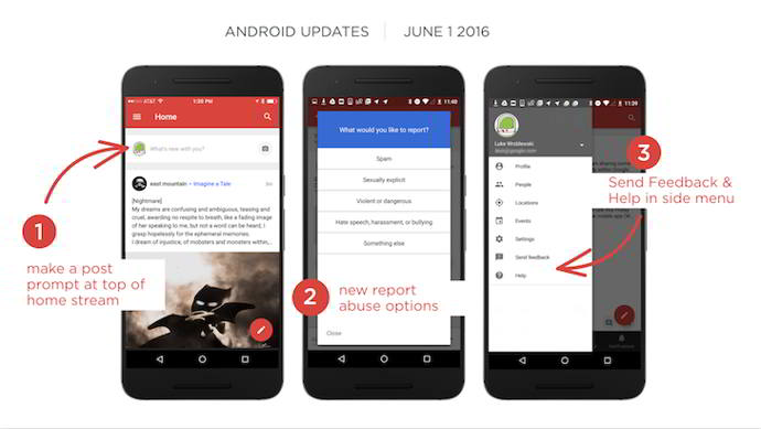 google plus v8.0 android