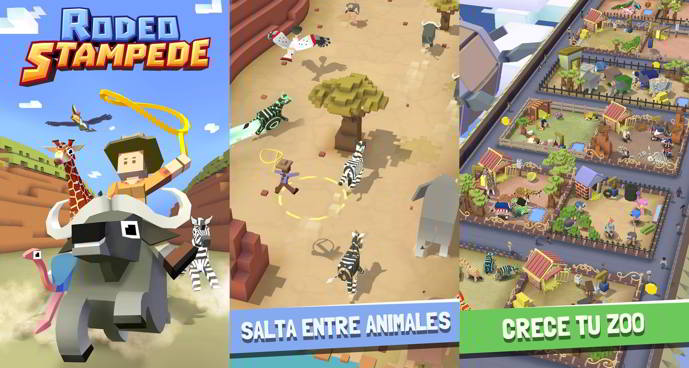 rodeo stampede sky zoo safari android