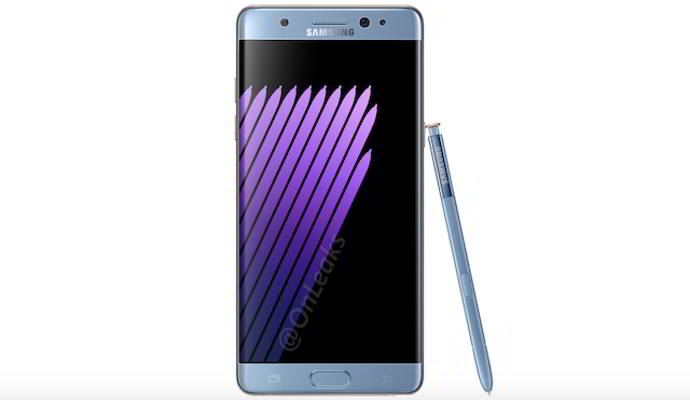 galaxy note 7 render android