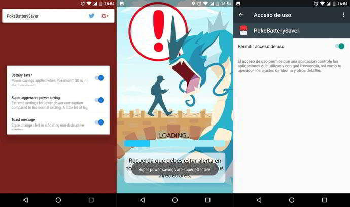 pokebatterysaver android