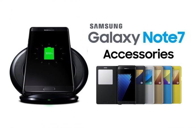 galaxy note 7 accesorios android