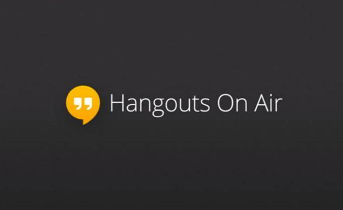 hangouts on air android